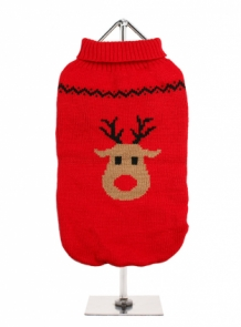 Rudolph's Red Sweater XS